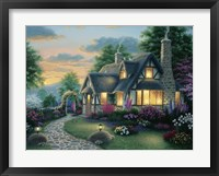 Austin Cottage Framed Print