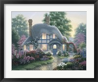 Twilight At Tilden Cottage Framed Print