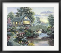 Framed Serenity Cottage