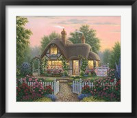Framed Rose Petal Gift Shoppe