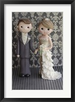 Bride And Groom 2 Framed Print