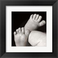 Sanchez III Feet Framed Print