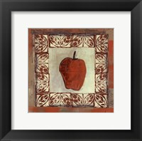 Framed Sketched Apple