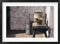 Framed Springhouse Still Life