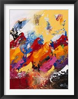 Explosion of Colors 1 Framed Print