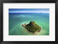 Framed Chinaman's Hat