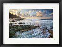 Framed Kaena Point Sunset