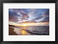 Framed Mokuleia Sunset