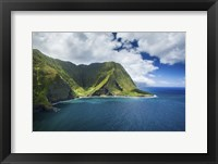Framed Molokai Waterfall