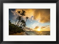 Framed Kahala Beach