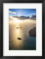Framed Lanikai Sunrise