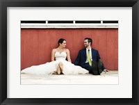 Framed Just Married