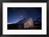 Framed Painted Barn