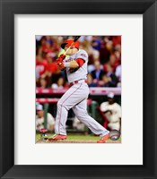 Framed Mike Trout 2015 MLB All-Star Game