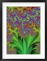 Floral I Framed Print