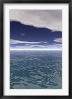 Sea and Sky II Framed Print