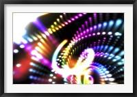 Neon III Framed Print