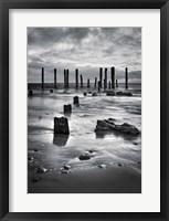 Framed Port Willunga BW