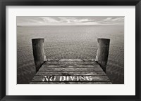 Framed No Diving