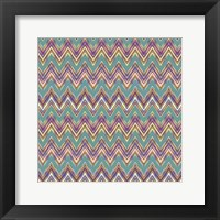 Framed Chevron Waves II