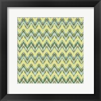 Framed Chevron Waves III