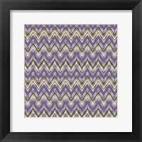 Framed Chevron Waves IV