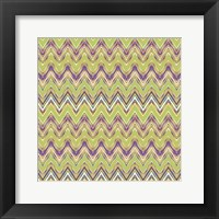 Framed Chevron Waves V