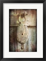 Block & Tackle III Framed Print