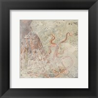 Coastal Cameo II Framed Print