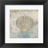 Coastal Cameo V Framed Print
