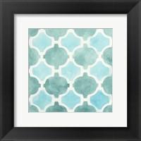 Framed Watercolor Tile II