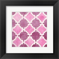 Framed Watercolor Tile V