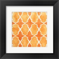 Framed Watercolor Tiles IX