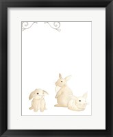 Baby Animals I Framed Print