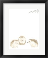 Baby Animals IV Framed Print