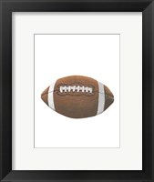 Sporting I Framed Print