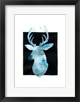 Framed White Tail Bust II