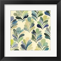 Watercolor Palms I Framed Print
