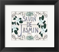 Vintage Soap Design II Framed Print