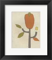 Simple Stems I Framed Print