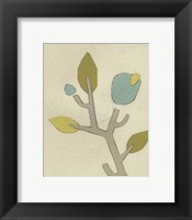 Simple Stems IV Framed Print