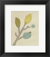 Simple Stems VI Framed Print