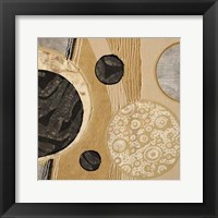 Calm Circles I Framed Print