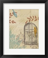 Uncaged II Framed Print