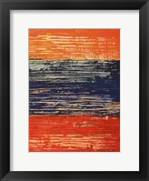 Electric Morning II Framed Print