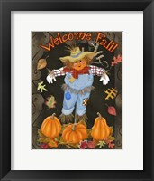 Framed Fall Scarecrow I