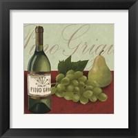 Wine Country I Framed Print