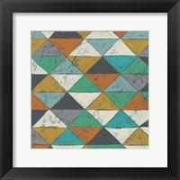 Framed Lucien's Pattern II