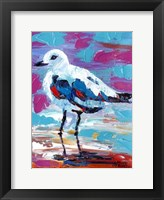 Framed Seaside Birds II