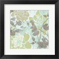 Dahlias & Petals I Framed Print